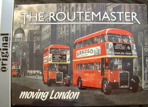 THE ROUTEMASTER HACKNEY